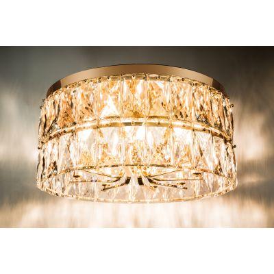 Люстра Alvadonna Crystal 78809/8X Gold  Alvadonna