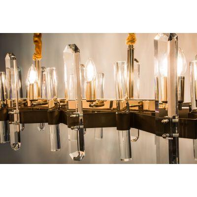 Люстра Alvadonna Crystal 78801/8AC Gold  Alvadonna