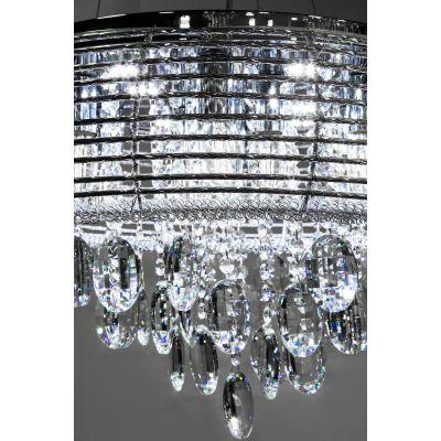 Люстра Alvadonna Crystal RM-03 Chrome  Alvadonna