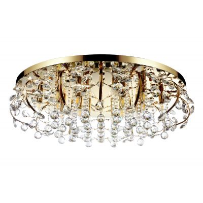 Люстра Alvadonna Crystal RE-307 Gold  Alvadonna