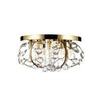 Люстра Alvadonna Crystal RE-306 Gold