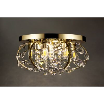 Люстра Alvadonna Crystal RE-305 Gold  Alvadonna