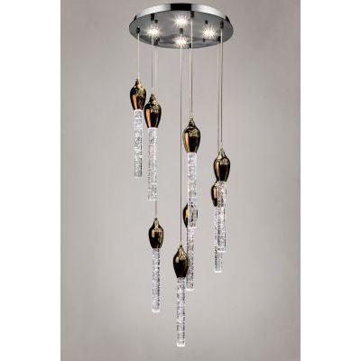 Светильник Alvadonna Crystal 1010/8GD 209/8 Gold  Alvadonna