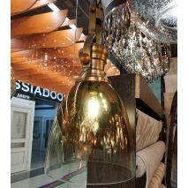 Светильник подвес Alvadonna 0585 Зеркально-бронзовый
