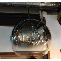 Светильник подвес Alvadonna 0511/Φ350 Зеркально-серебряный