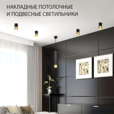 Накладные потолочные и подвесные светильники Elektrostandard DLN106 и DLN107